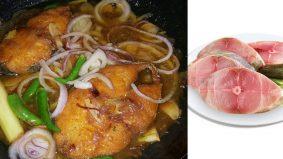 Ikan Tenggiri masak asam versi kampung, pembuka selera!