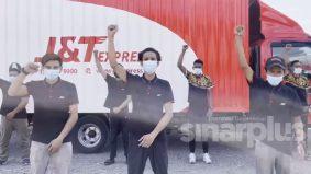 [VIDEO]7 pekerja J&T Perak akhirnya mohon maaf, mogok baling barang pelanggan