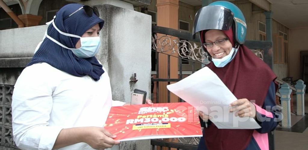 """""""Tak sangka menang RM30,000, kali pertama masuk peraduan"""" - Pemenang Peraduan Sinar Harian Di Hatiku"""