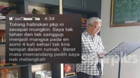 Suami guna Facebook isteri komen tamatkan PKP sebab tak 'tahan' akhirnya bawa padah