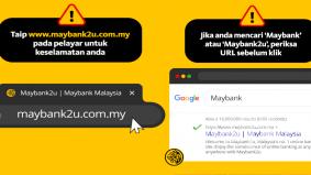 Maybank kongsi tip elak pengguna tertipu dengan laman web palsu