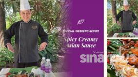 Jual makanan air tangan chef resort empat bintang berkonsep pandu lalu demi kelangsungan hidup