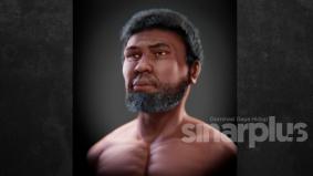 Orang Perak paling terkenal akhirnya memiliki lakaran wajah sempurna