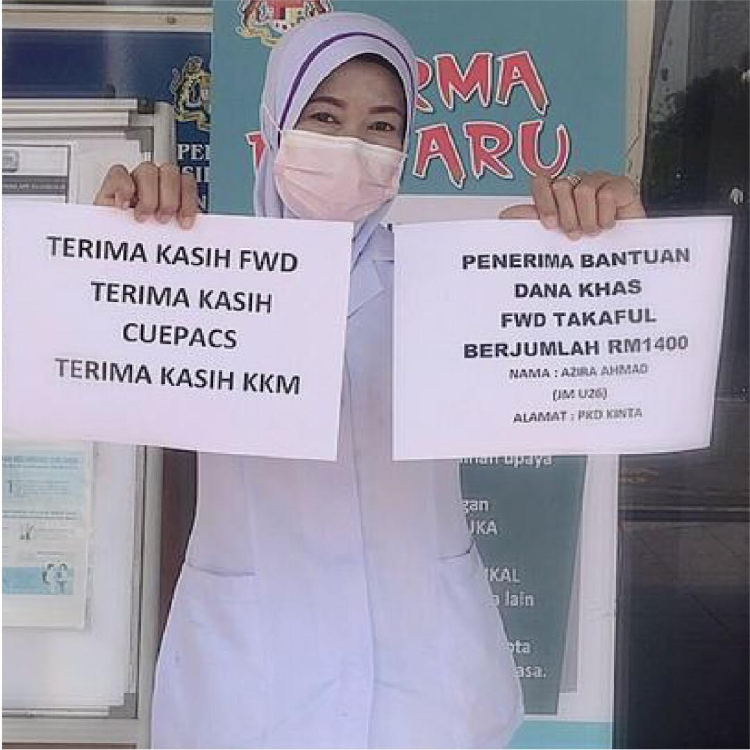 Dana MyHeroes berjumlah RM10 juta yang ramai tidak tahu, frontliner KKM berhak untuk tuntut