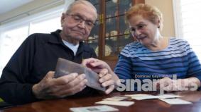 Dompet hilang 53 tahun berjaya ditemui semula, tak sangka boleh jumpa
