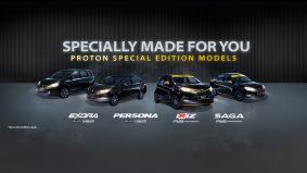 Proton lancar empat varian edisi istimewa, janjikan reka bentuk unik, lebih luar biasa