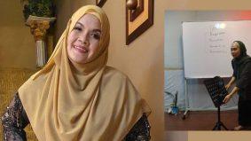 """""""Proses pembelajaran tiada titik noktah"""", Aishah masuk kelas vokal cikgu Shafi"""