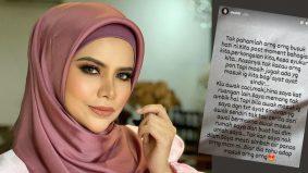 """Saya mesti simbah air panas orang macam ini"", Datin Alyah berang komen biadap netizen"
