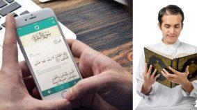 Sama ke pahala baca al-Quran guna telefon dengan mushaf? Jom baca penjelasan ini…