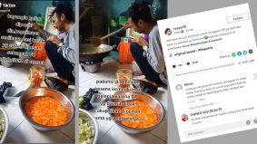 [VIDEO] Pelanggan batalkan pesanan 60 kotak nasi, viral video peniaga menangis sambil memasak tempahan itu