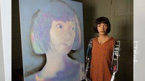 Ai-Da, robot artis pertama lukis potret, karyanya bakal dipamerkan di London Mei depan