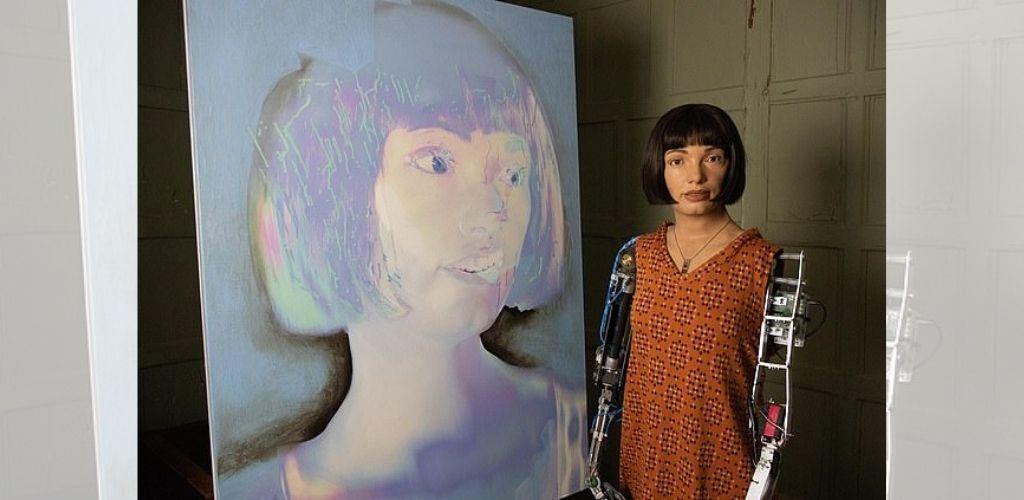 Robot artis Ai-Da