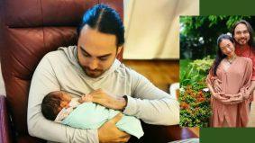 Selepas lapan tahun berkahwin, Jehan Miskin kini bergelar bapa