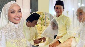 Aishah AF kini bergelar isteri