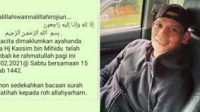 Bapa Rem Kassim meninggal dunia
