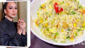 [VIDEO] Nasi goreng simple, enak cara Marsha Milan