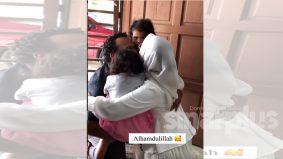 [VIDEO]Detik pertemuan setelah setahun terpisah bikin warganet mengalir air mata
