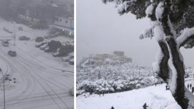 Selepas Arab Saudi, kini Libya pula dilanda salji, 6 bandar catat cuaca sejuk paras beku