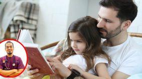Ayah wajib bacakan 'bedtime stories' jika nak anak makin cerdik