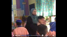 Guru angkat dan campak murid tadika cetus amarah warganet