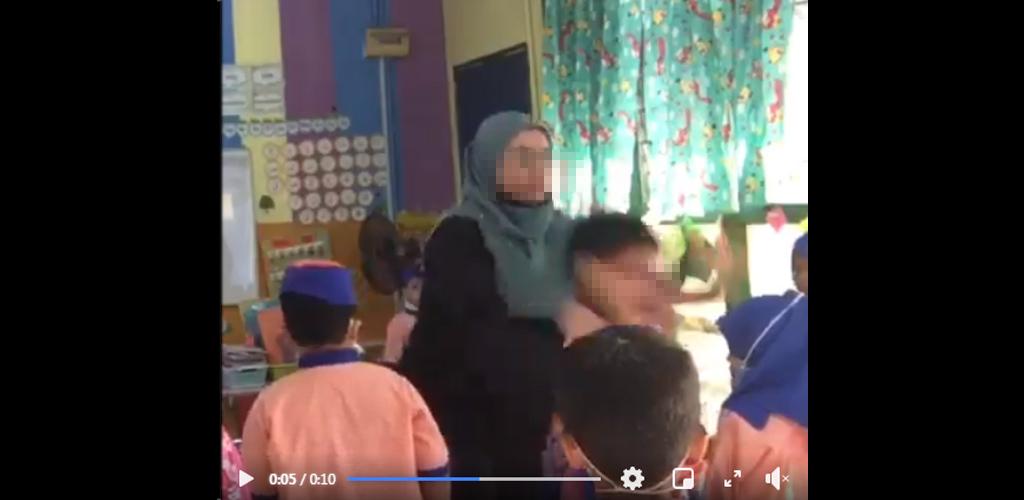 [VIDEO] Guru angkat dan campak murid tadika cetus amarah warganet