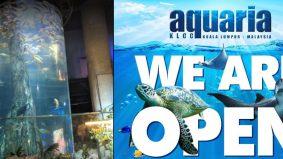 Tiket masuk Aquaria KLCC RM35 untuk 2 dewasa dan 1 kanak-kanak, rugi tak rebut peluang!