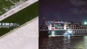 Setelah hampir seminggu, Kapal MV Ever Given berjaya dialihkan
