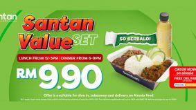 Santan tawar nilai hebat dengan hidangan RM9.90