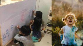 Beri peluang anak conteng dinding, ini 4 manfaat ramai tak tahu