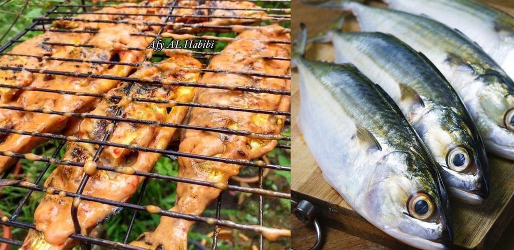 Ikan kembung percik enak memukau selera