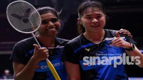 Pasangan beregu muda Malaysia juara terbuka Switzerland