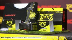 Casio jalin kerjasama dengan FAM, perkenal jam edisi terhad Harimau Malaya