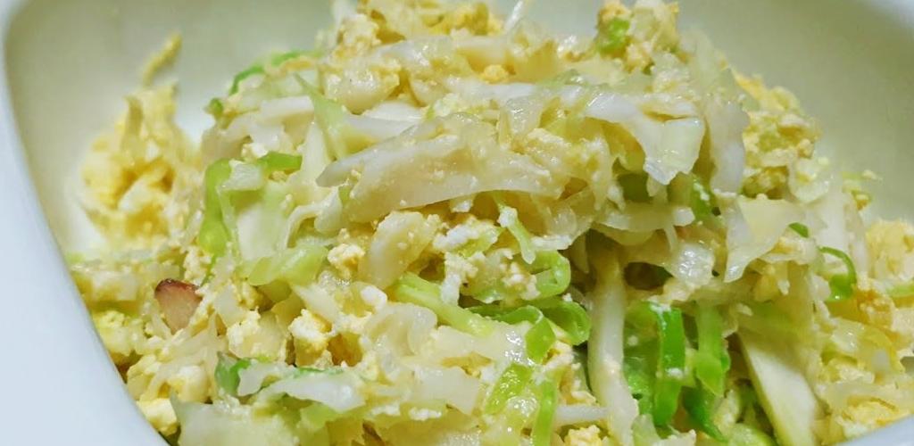 Kubis goreng telur versi 'eat clean' buat si diet