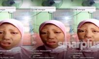 [VIDEO] Gara-gara tertarik tong gas di dapur, gadis ini kongsi pengalaman dibungkus seperti mumia