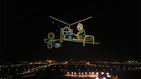 China terbangkan 600 dron untuk 'cipta semula' karya agung Van Gogh di udara, pecah rekod Guinness World Records!