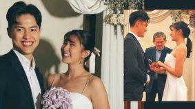 Berita saya sudah berkahwin adalah benar – Elizabeth Tan selamat bergelar isteri