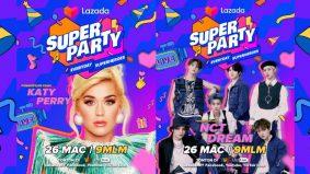 Katy Perry, NCT Dream bakal meriahkan Konsert Lazada Super Party