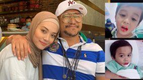 Bibir terkoyak, anak pasangan Shaheizy Sam dan Syatilla terima tujuh jahitan
