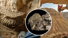 Rangka kanak-kanak berusia 6,000 tahun ditemui di gua paling mengerikan