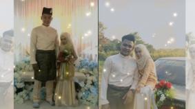 [VIDEO] Comelnya, pasangan pengantin jadi tumpuan netizan gara-gara disangka budak sekolah