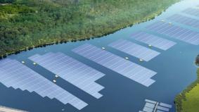 Gara-gara tak cukup tanah, Singapura bina ladang solar terapung terbesar di dunia