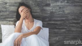 Stres punca sukar tidur, alami kemurungan melampau