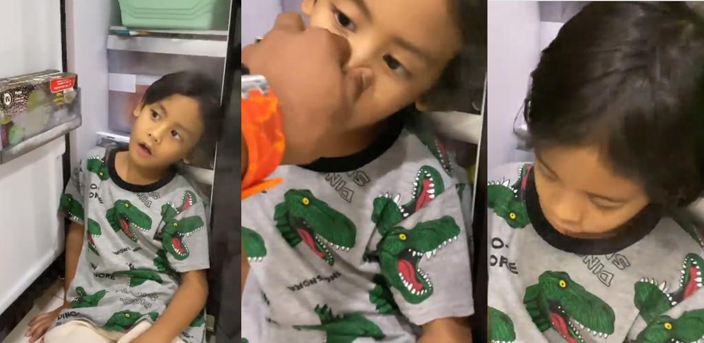 [VIDEO]Comel! Ramai terhibur telatah anak Shuib tunggu waktu berbuka