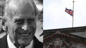 Putera Philip meninggal dunia, bendera Union Jack dikibar separuh tiang
