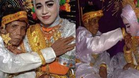 Lelaki 58 tahun nikahi anak gadis 19 tahun, tanah dan kebun jadi mas kahwin