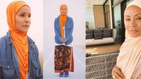Imej terbaru Jada Smith berkain batik sarong curi perhatian