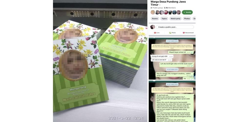 Hutang tak dibayar, gadis ini cetak gambar penghutang pada surah Yasin