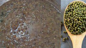 Menyelerakan! Bubur kacang hijau klasik beraroma wangi