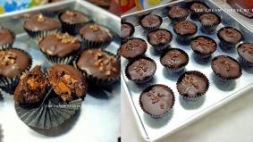 Biskut Raya Tak Perlu Bakar Rasa Coklat Kaw kaw, Resipinya Mudah Hingga 5k Perkongsian