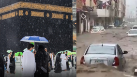 Keajaiban 15 Ramadan. Hujan lebat 3 jam, Makkah dilanda banjir kilat & hujan batu